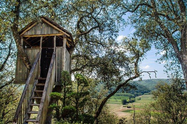 Qu'est-ce qu'une cabane dans un arbre?